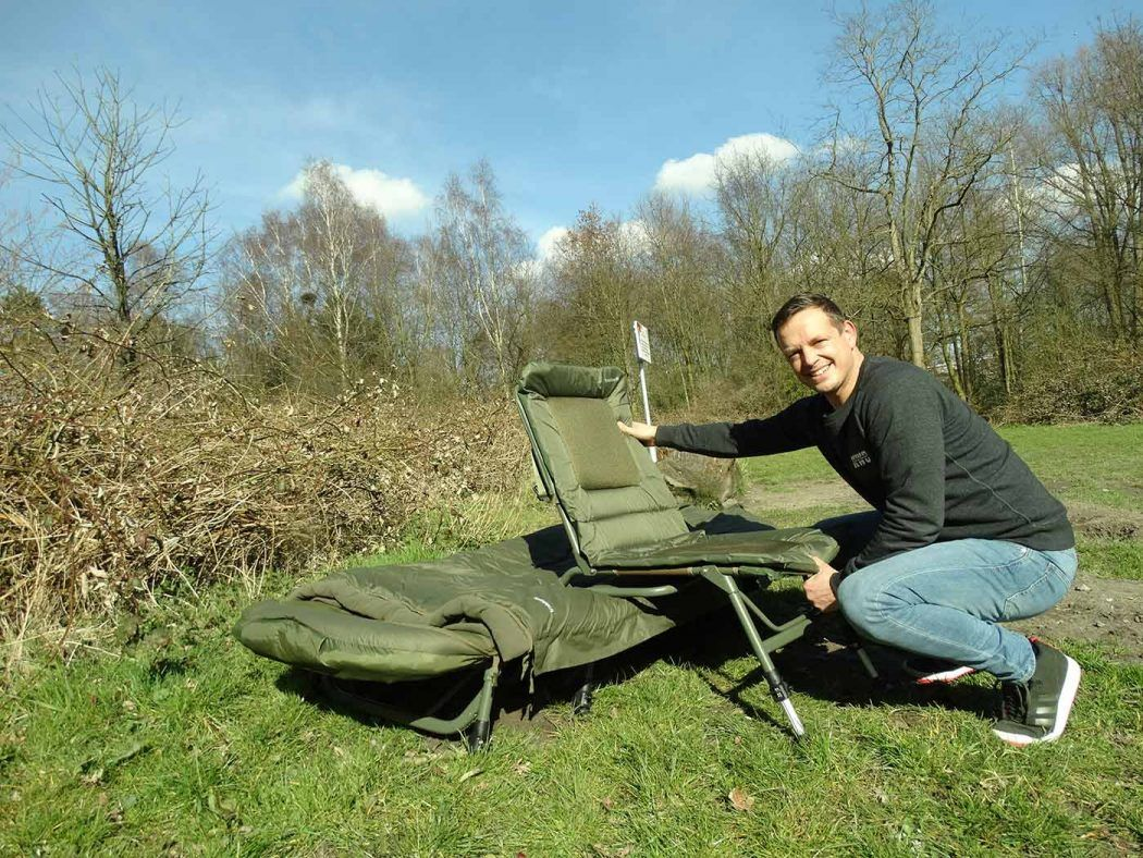KWO Fieldtest – Trakker RLX Combi Chair – Remy van Os