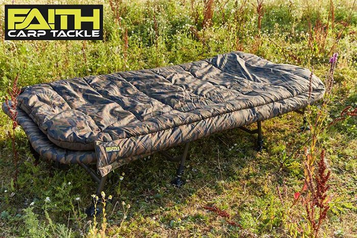 WIN: een Bed & Sleep System XXL 8-Leg van Faith Carp Tackle