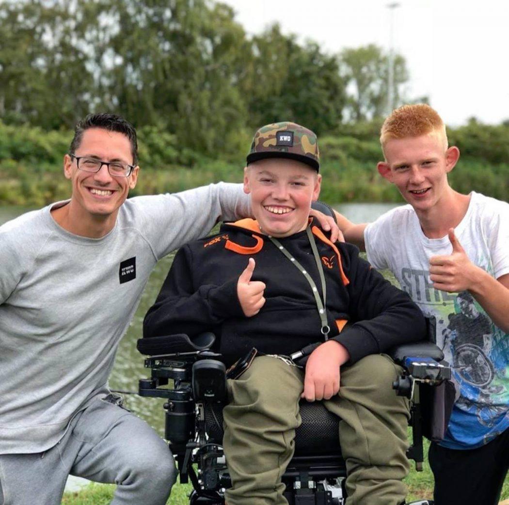 Van begin tot eerste dertiger – Vissen met een handicap met Marco in 't Hout