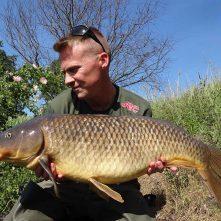 Stalkend vissen op karper – Jay Wilms