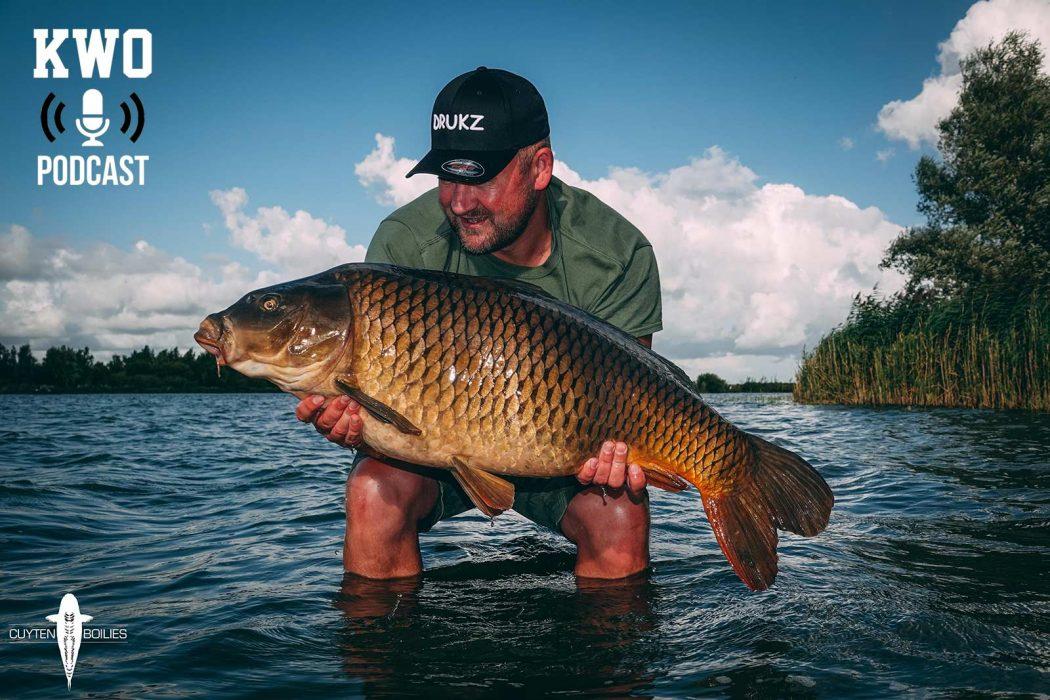 KWO Podcast #25 – Lex Cuyten over groot water visserij, aas, American Football en meer!