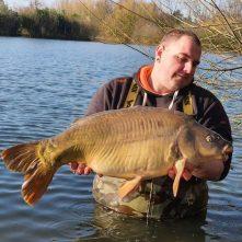Maart succes op Timmy's Lake – 25+ vissen voor Sjors & Daniëlle!
