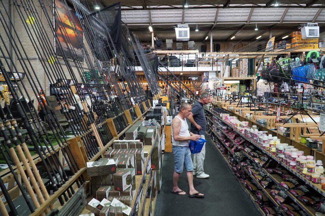 Topstart van je zomervisserij met de producten van Wout van Leeuwen!